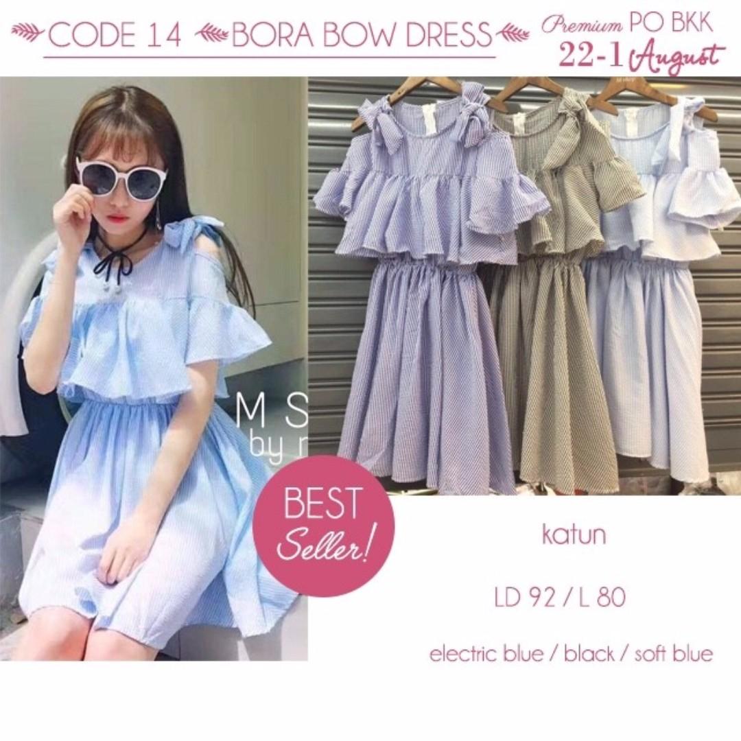 Code 14 Bora Bow Dress