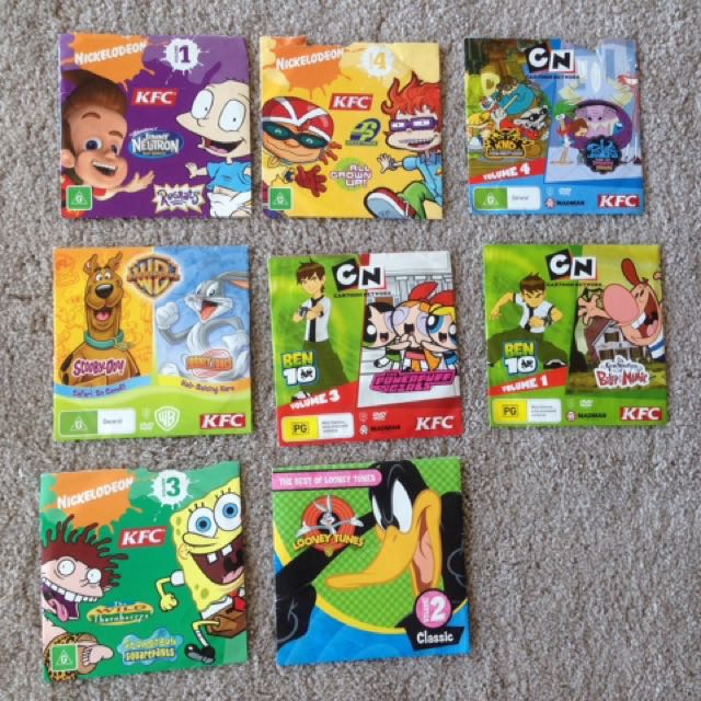 Collection Of Kid's DVDs