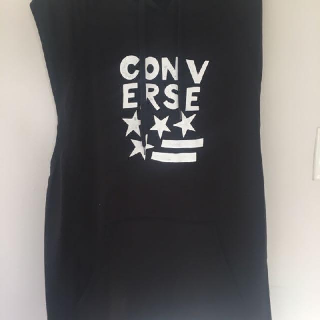 Converse sleeveless hoodie