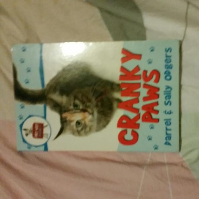 Cranky Paws Childrens Book