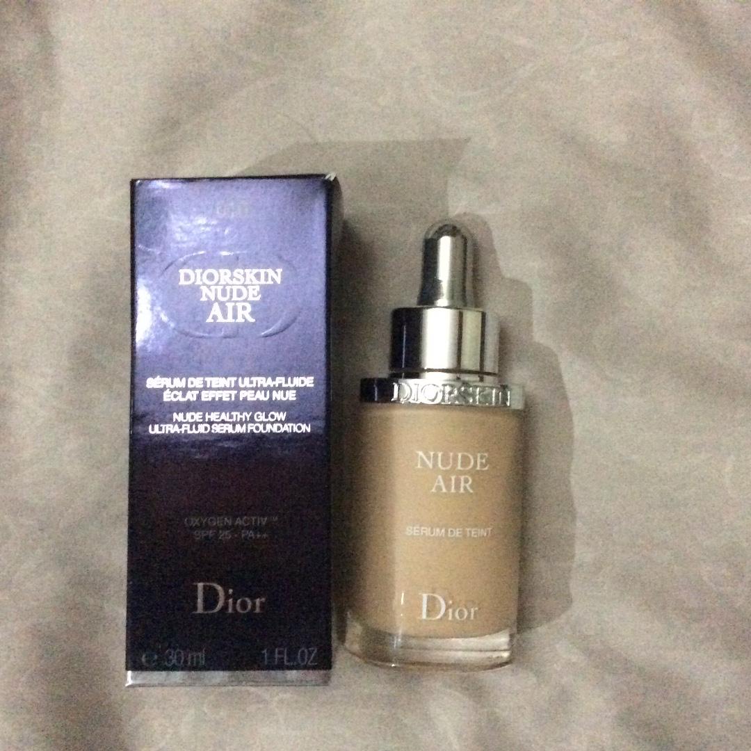 Dior Nude Air Healthy Glow Serum Foundation 10 Ivory