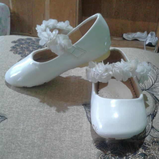 Doll Shoes With Floral