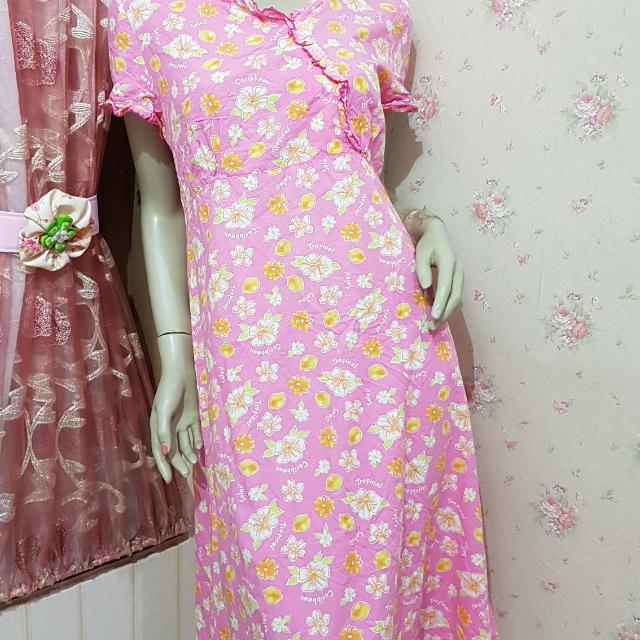 Dress Katun Import