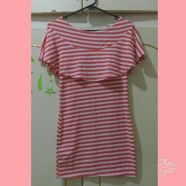 Dress Stripes Orange-Press Body