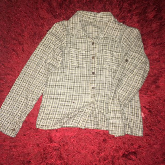 Flannel Crop Shirt