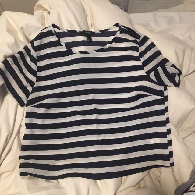 Forever 21 Chiffon Tshirt