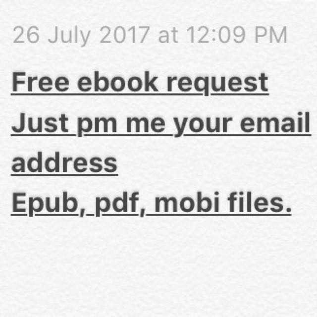 FREE EBOOK REQUESTS