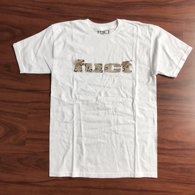 Fuct Dessert Camo Logo Tee White