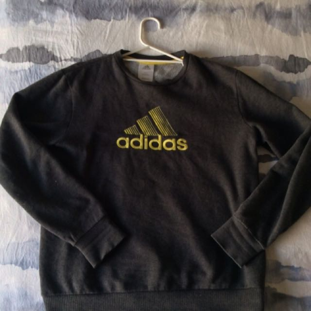 Grey Adidas Jumper