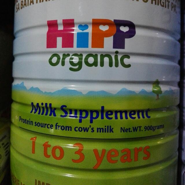 Hipp Organic Milk 1-3 900g