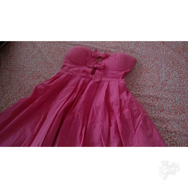 Imported Pink Cute Dress