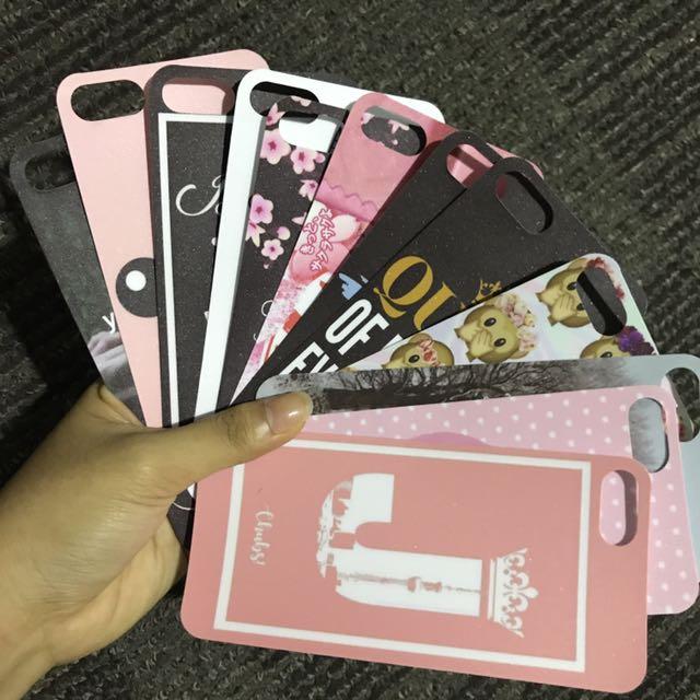 Inserts in Iphone 7 Case (Clear)