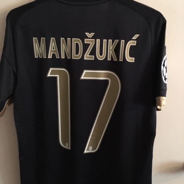 release date: dd097 a4da9 Juventus Official 3rd Kit Season 15/16 Jersey Mandzukic