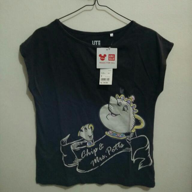 Kaos UNIQLO Beauty & The Beast