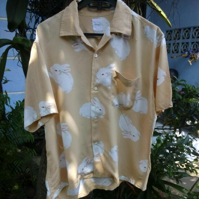 Karl Helmut Rabbit Shirts Size M Fit S