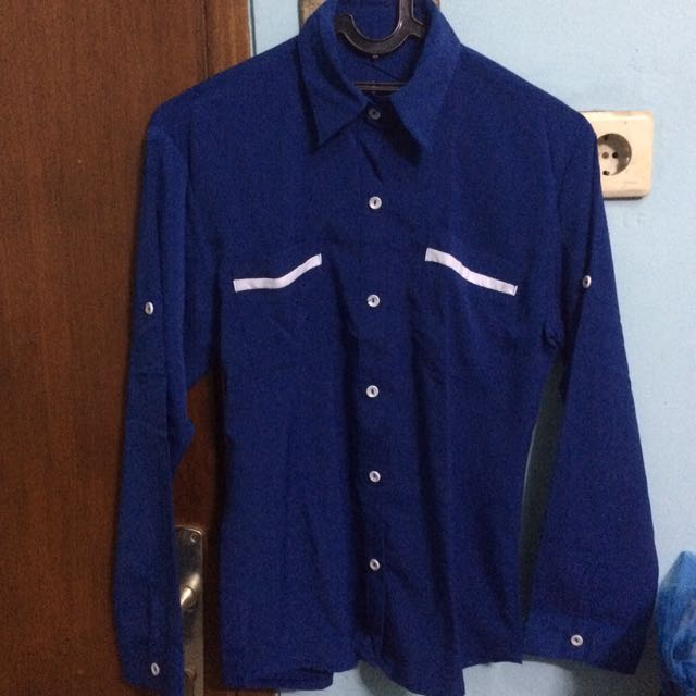 Kemaja Navy Blue