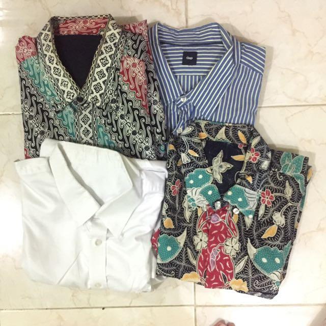 Kemeja dan celana kantor BIG SIZE 4L/XXXL