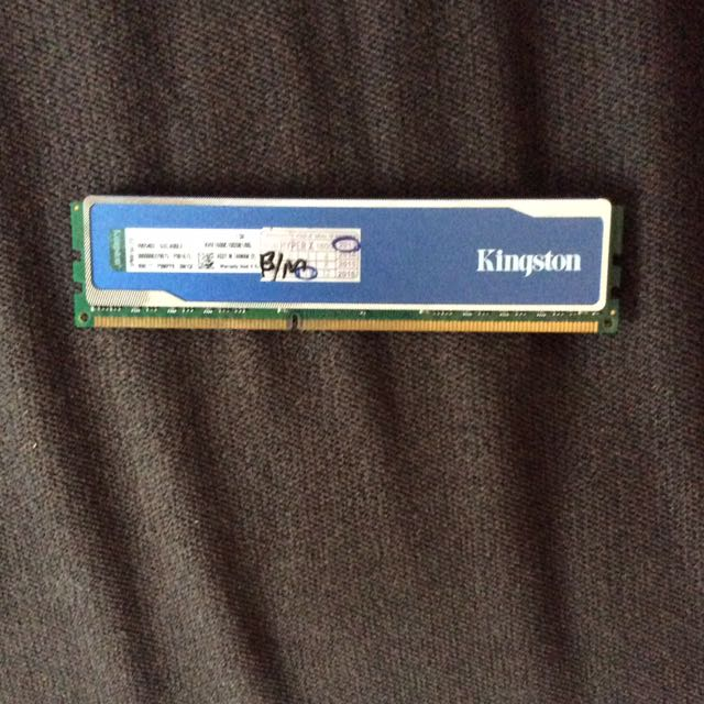 Kingston HyperXblu 8gb Ram