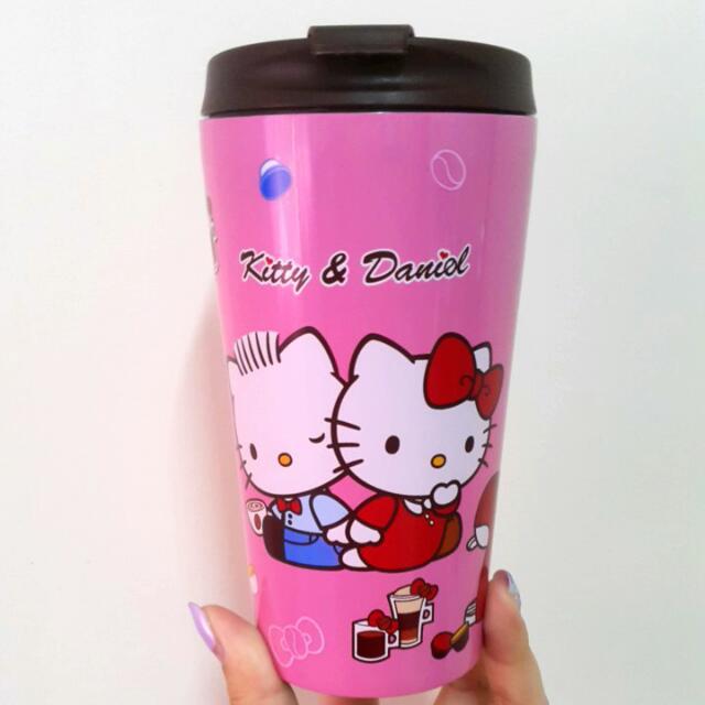 Kitty不鏽鋼隨手隨行杯