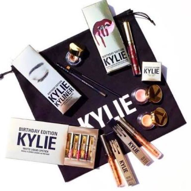 Kylie Cosmetics Limited Edition Birthday Collection