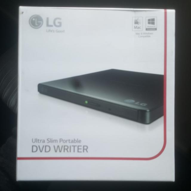 LG Ultra Slim Portable DVD Writer