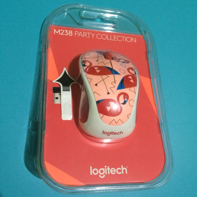 Logitech m238 Party Collection - Flamingo Mouse