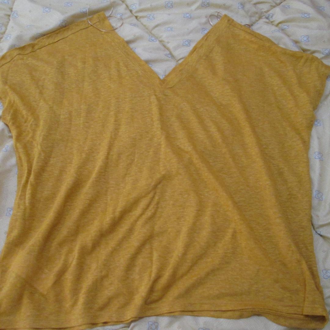 MANGO Suit Linen Top