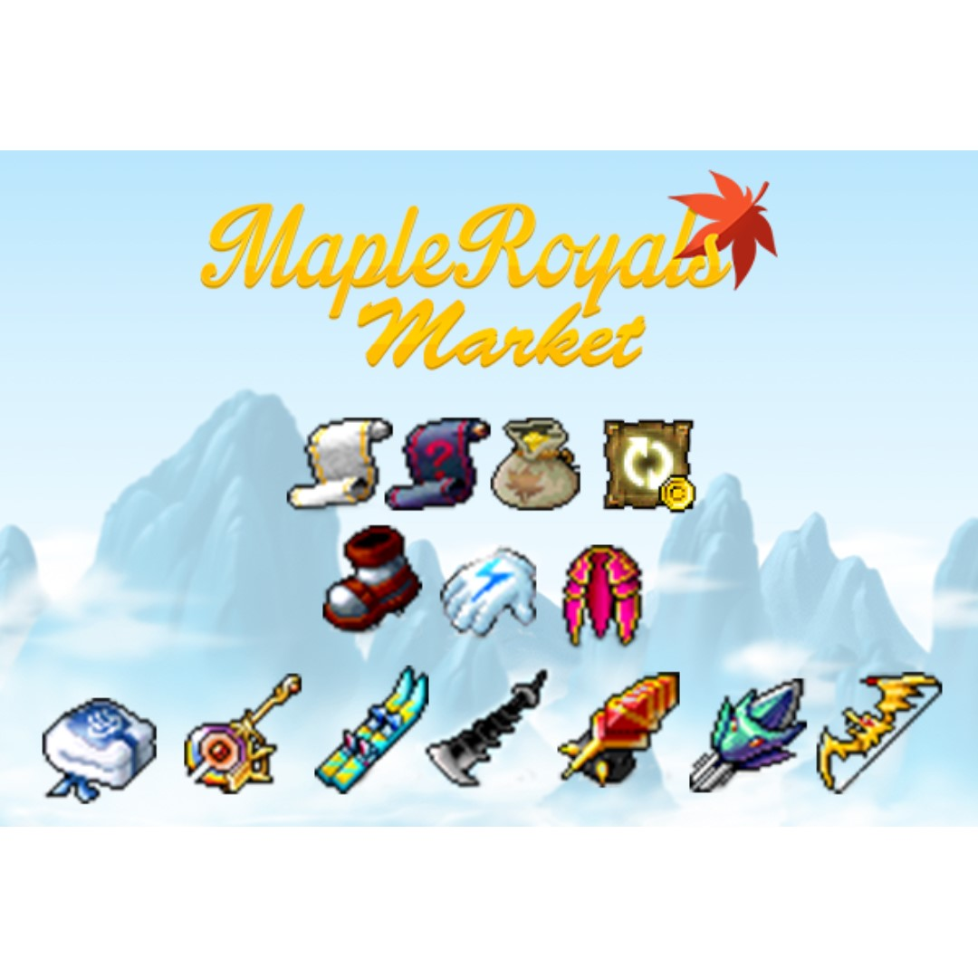 Mapleroyals Market *Lunar New Year Promotion*