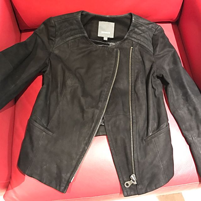 MARC SIZE 6 LEATHER JACKET