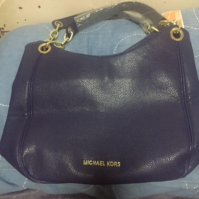 Michael Kors Class A Blue Bag