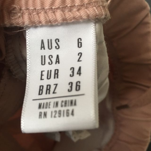 Millennial Pink Cotton On Army Pants (AU 6)