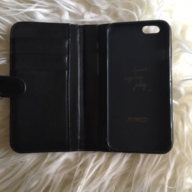 Mimco Black Iphone 6s Case
