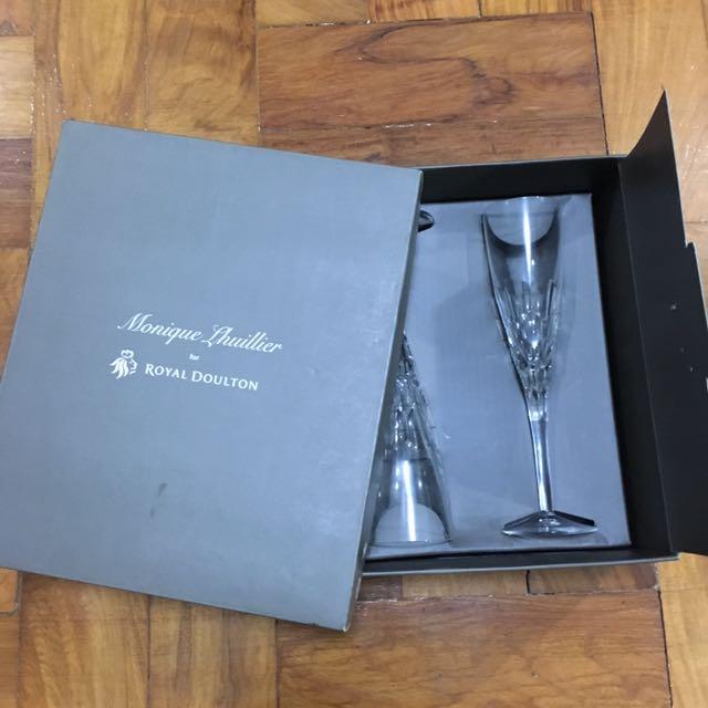 Monique Lhuillier Champagne Flute