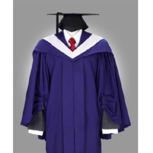 NUS Business Graduation Robe Gown Rental, Women\'s Fashion, Clothes ...