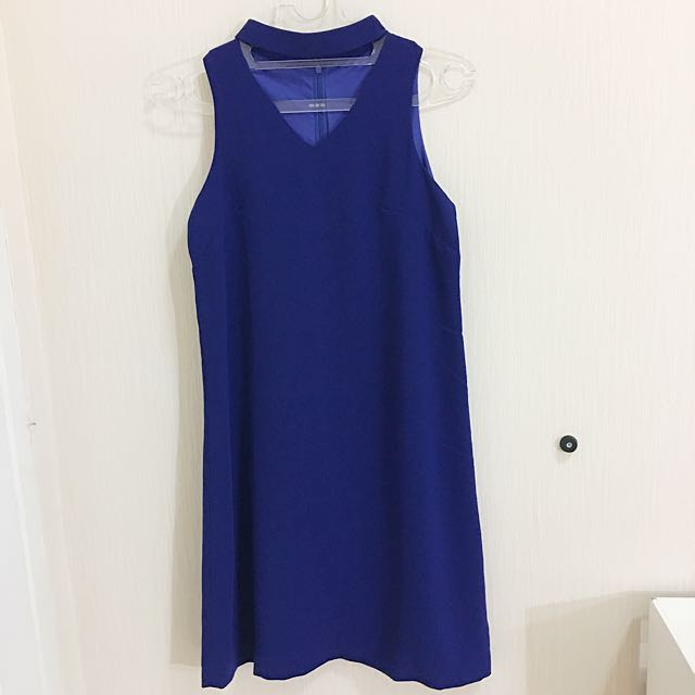dress wanita biru nyLa