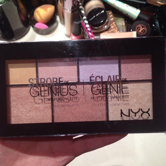NYX Strobe Genius Palette