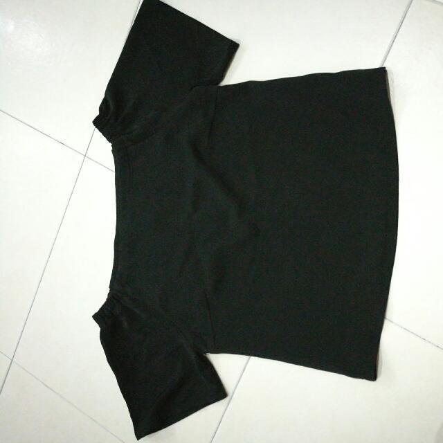 Off Shoulder Top (Black)