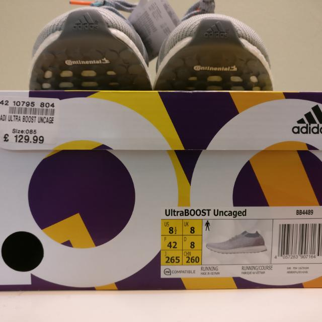 738d9d91b Original Adidas Ultraboost Uncaged 3.0 Shoes Grey