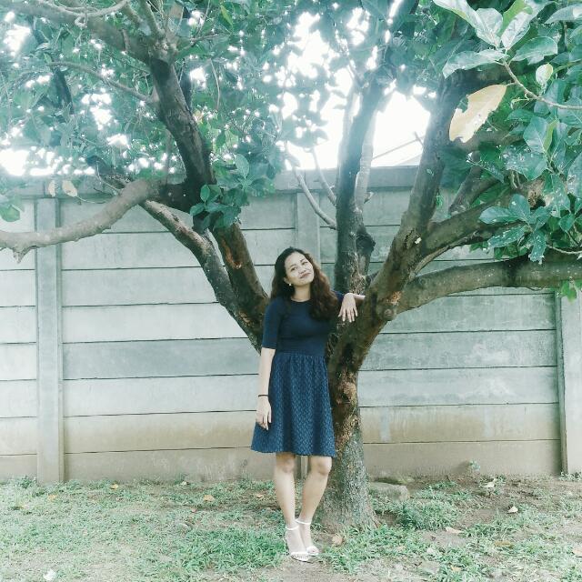 Attic Dark Blue Dress