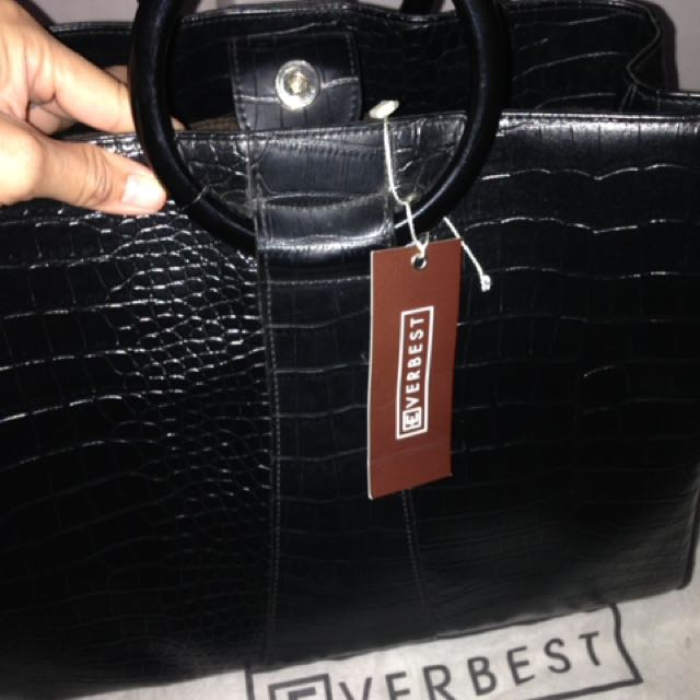 Original Bag Merk Everbest Black Snake