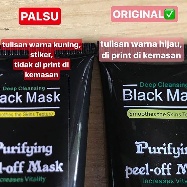 Original Black Peel Of Mask