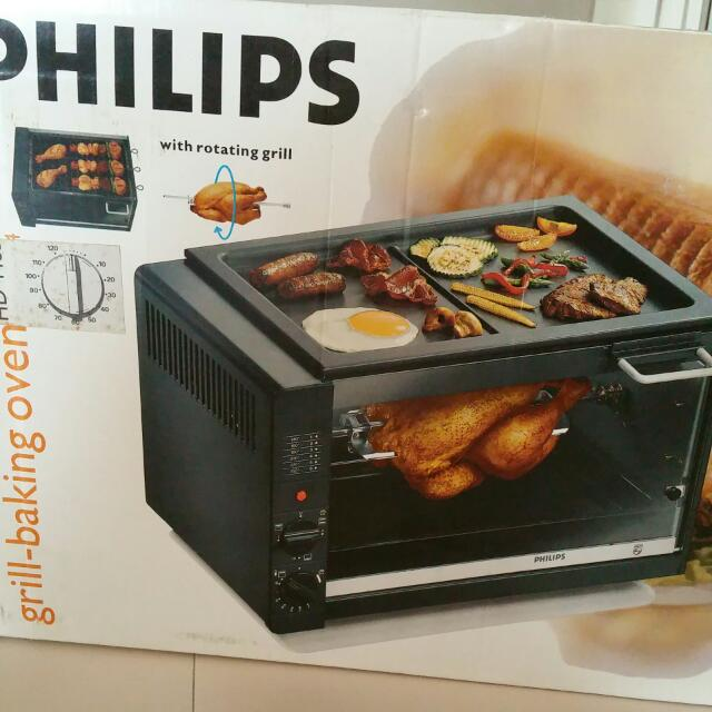 philips grill baking oven home appliances on carousell