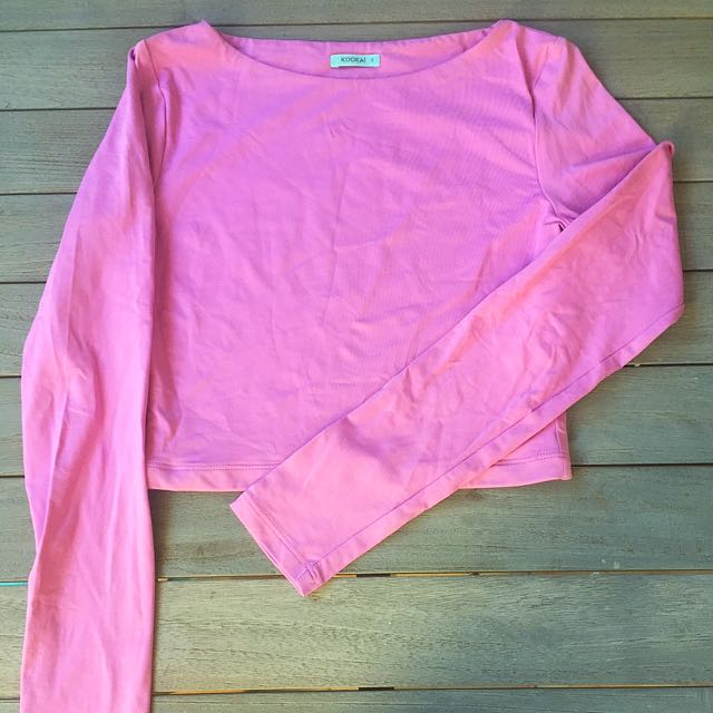 Pink Long Sleeve Kookai Top
