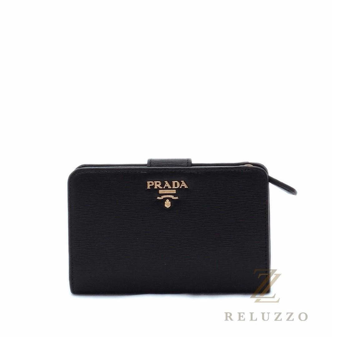 PRADA 1ML225 VITELLO MOVE PORT LAMPO WALLET NERO, Women s Fashion, Bags    Wallets on Carousell 6fb1798327