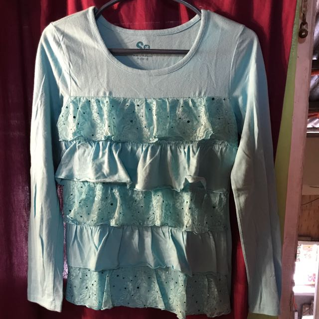 Pre Loved Cotton So Fab Long Sleeves Best Fits To Girls Ages 9-10