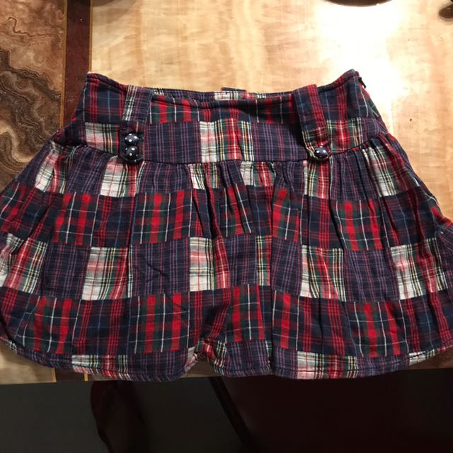 Pre Loved Limited Too Skirt Skort For Girls Ages 7-8years Old