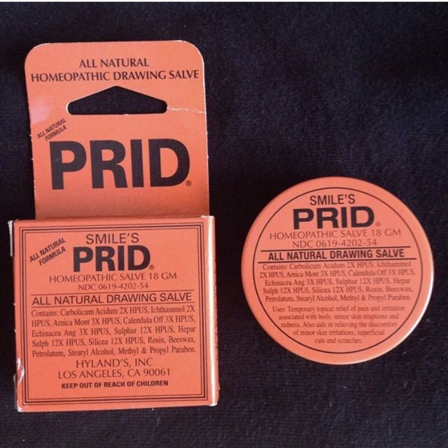 PRID All Natural Drawing Salve on Carousell