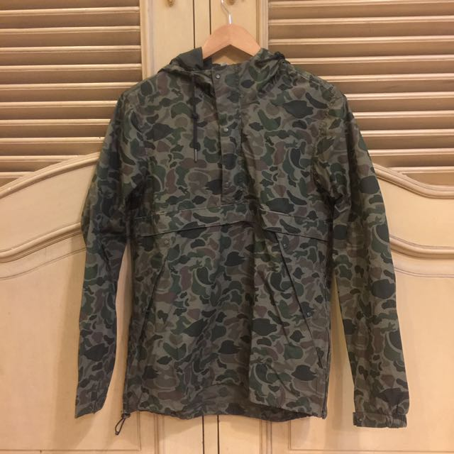 Pull And Bear Army Cagoule