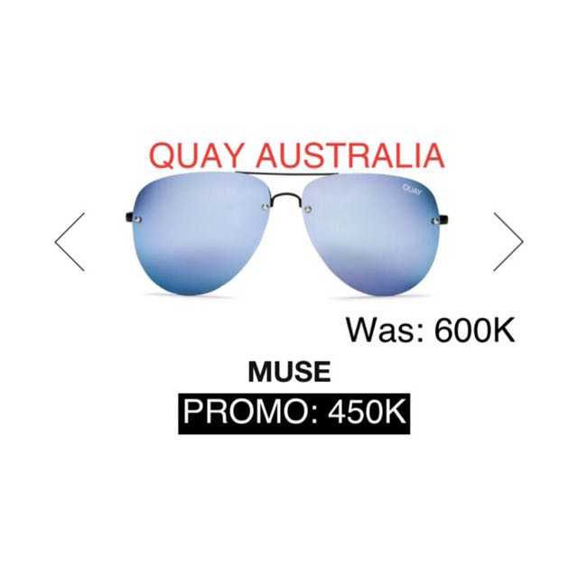 KACAMATA SUNGLASSES QUAY AUSTRALIA (SWIPE TO SEE MORE COLOR)