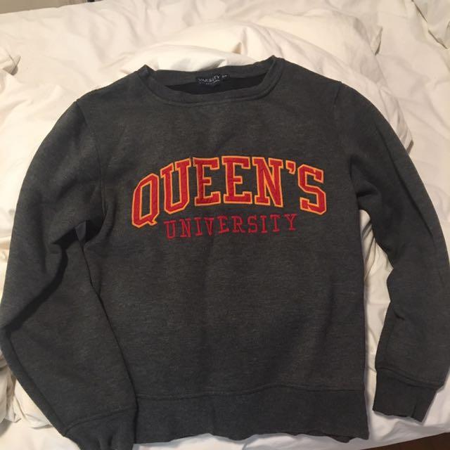 Queens University Crewneck